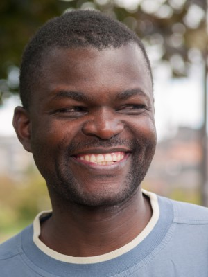 Retrato de Richard Ongala (Congo Brazzaville)