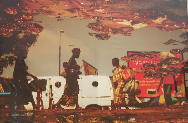 Mural callejero en Bamako